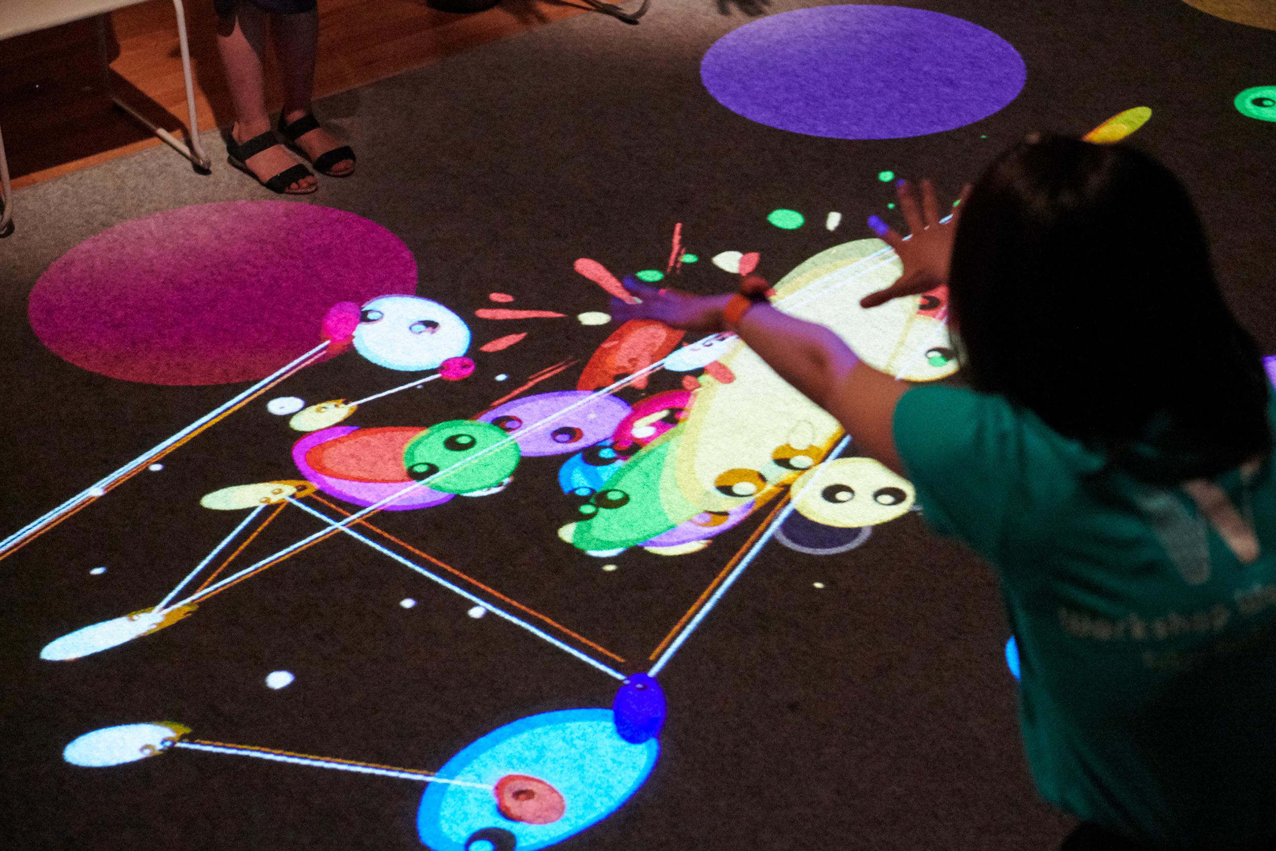 東京文化会館ミュージック・ワークショップ「ヒカリズム~音と光で描くリズムの世界」(2021)